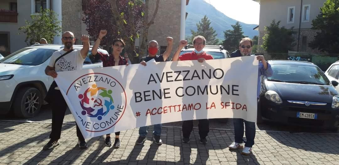 Il gruppo politico Avezzano Bene Comune manifesta a Roma contro il governo ed i brevetti vaccinali