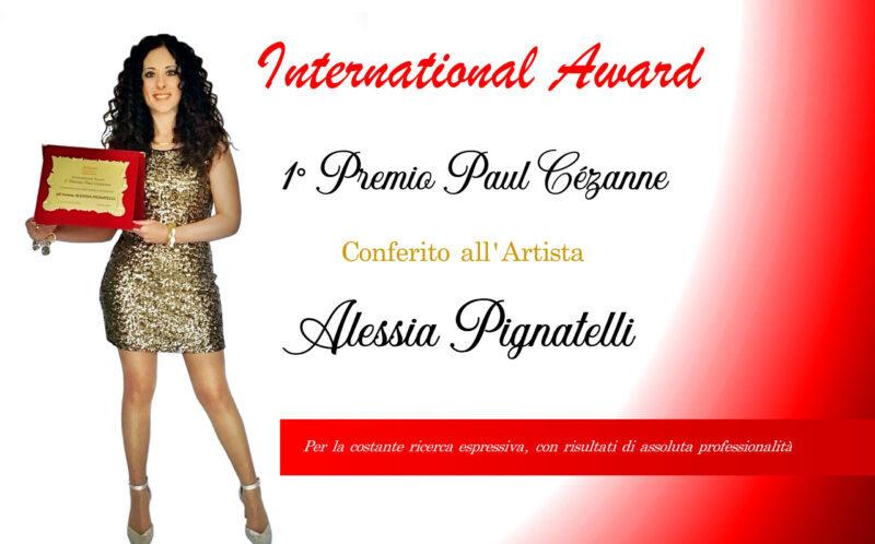 International Award, 1° Premio Paul Cézanne premiata l'abruzzese Alessia Pignatelli