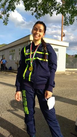 Atletica, medaglia d'oro per i giovani atleti marsicani Valeria Buongiovanni e Andrea Franchi