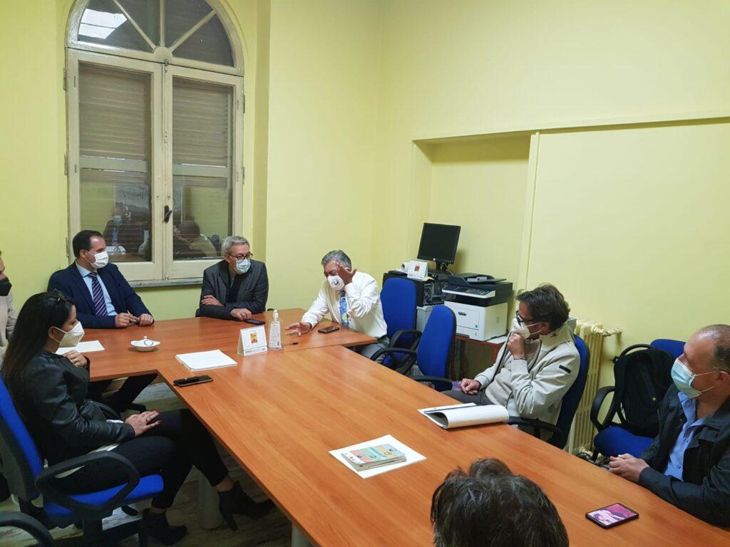 La Senatrice Di Girolamo e il Consigliere Regionale Fedele in visita al GAL Marsica