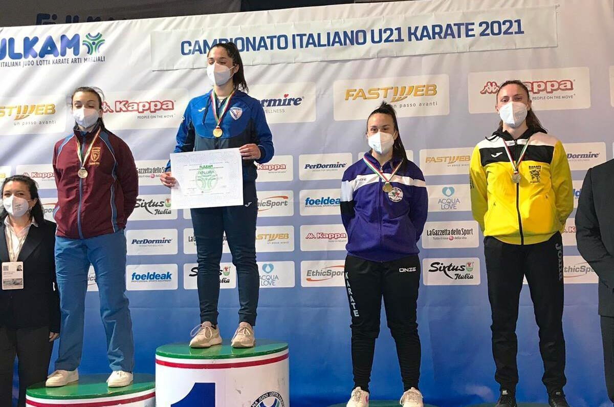 Il karate avezzanese grande protagonista alla finale del campionato italiano under 21