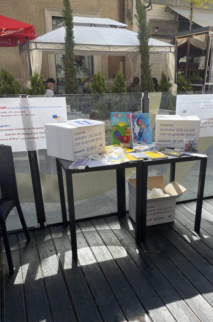"""""""Insieme contro la povertà educativa"""", consegnati 50 kit educativi ai bambini di Avezzano"""