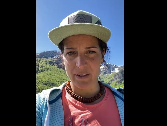 L'alpinista Tamara Lunger in visita al PNALM