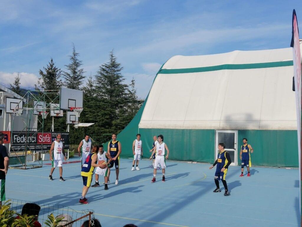 La Nazionale italiana basket artisti in ritiro a Tagliacozzo