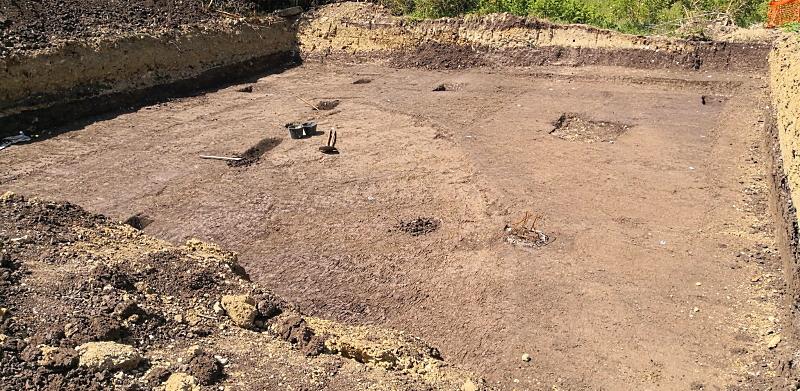 Lavorazioni agricole di epoca romana rinvenute tra Avezzano e Celano