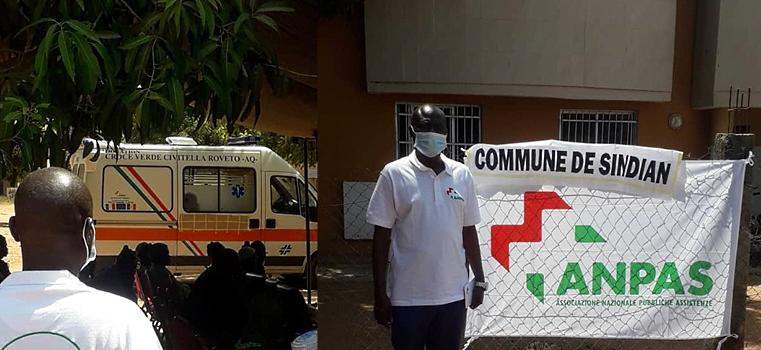L'ambulanza donata dalla Croce Verde di Civitella Roveto è giunta in Senegal