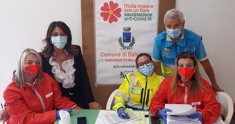 Vaccinazioni anti Covid a Balsorano: in una giornata inoculate 180 dosi