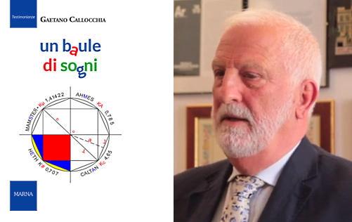 Un baule di sogni, il nuovo romanzo dell'aiellese Gaetano Callocchia