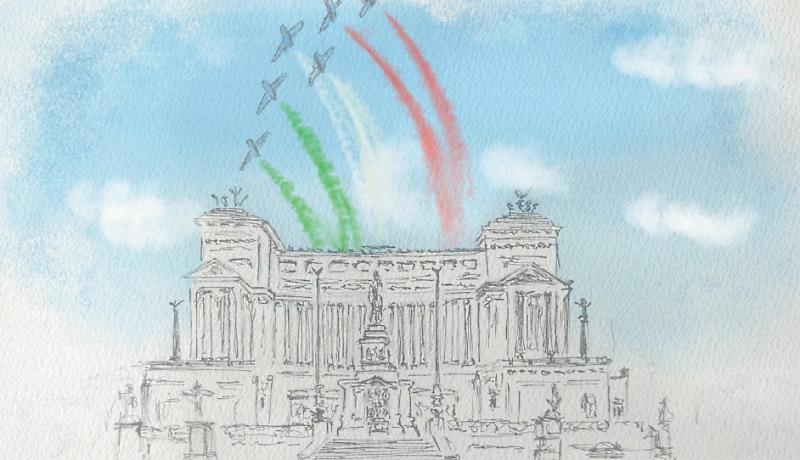 Poste Italiane celebra la Festa della Repubblica con una cartolina filatelica colorata