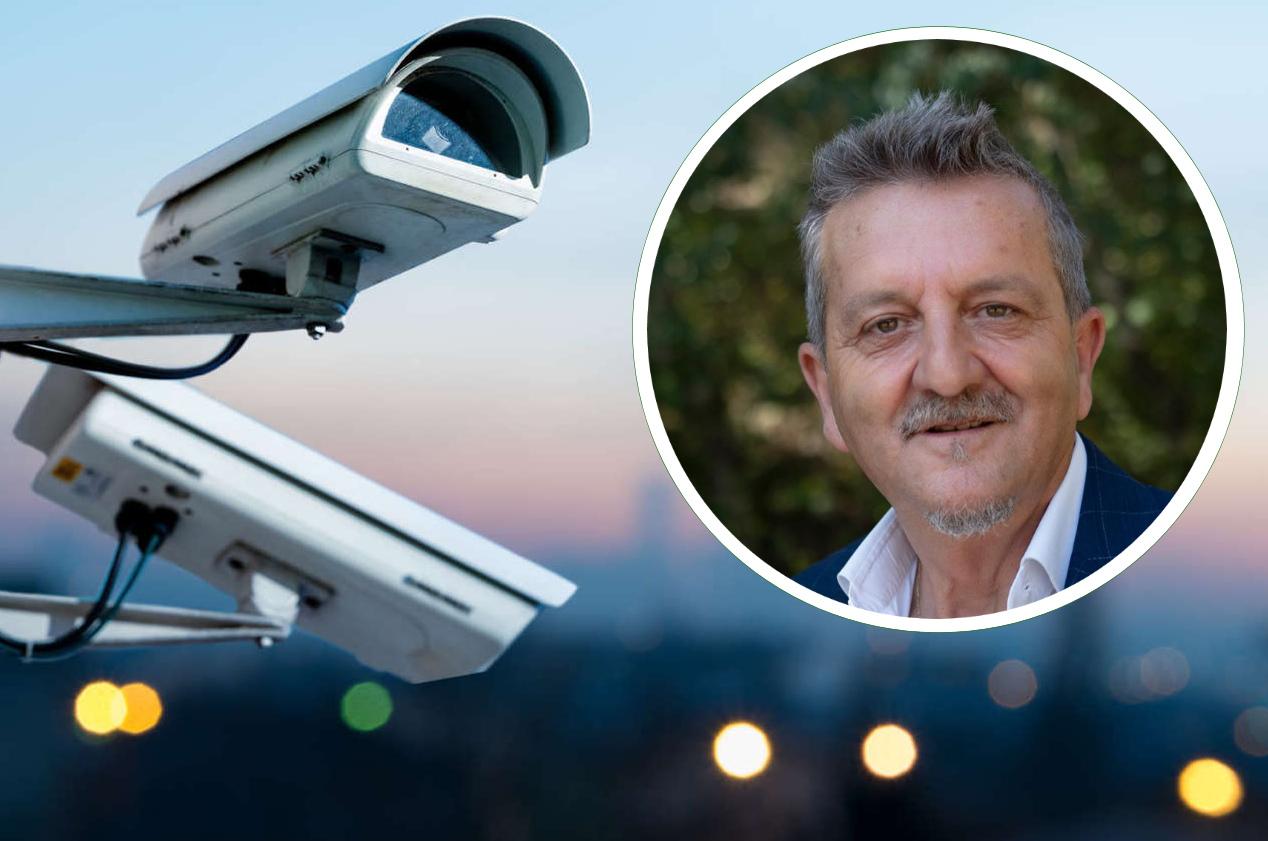 """Sicurezza, telecamere per scuole e stazione e servizi interforze serali. Di Pangrazio: """"più sicuri con controlli serali e videosorveglianza"""""""