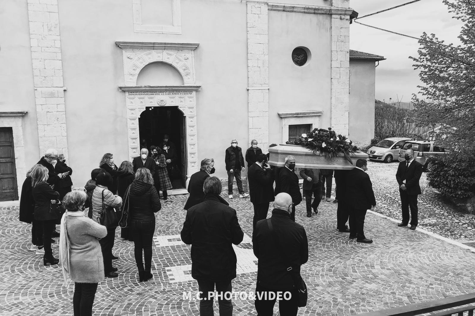 L'ultimo saluto ad Umberto Scipioni, l'ultra centenario di S.Donato