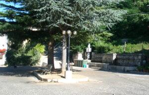 Ultimati i lavori di rifacimento di Piazza Fonte Vecchia a Capistrello, domani l'inaugurazione