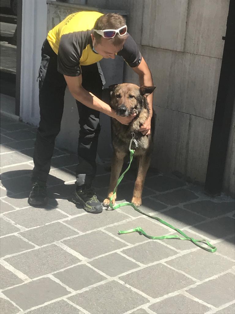 Il SAGF L'Aquila visita la famiglia di Gianmarco Degni