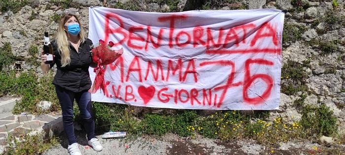 Mamma 51enne torna casa dopo tre mesi di ospedale, il ringraziamento ai sanitari dell'ospedale di Avezzano e L'Aquila
