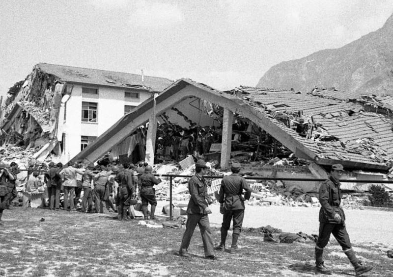 45 anni fa il devastante terremoto in Friuli. L'alpino marsicano Giulio Gino Di Giacomo ricorda