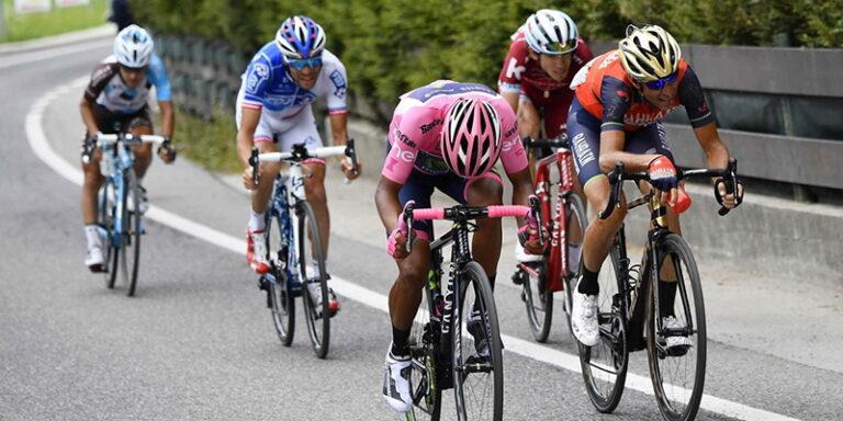 A Celano, zona rossa, arriva il Giro d'Italia