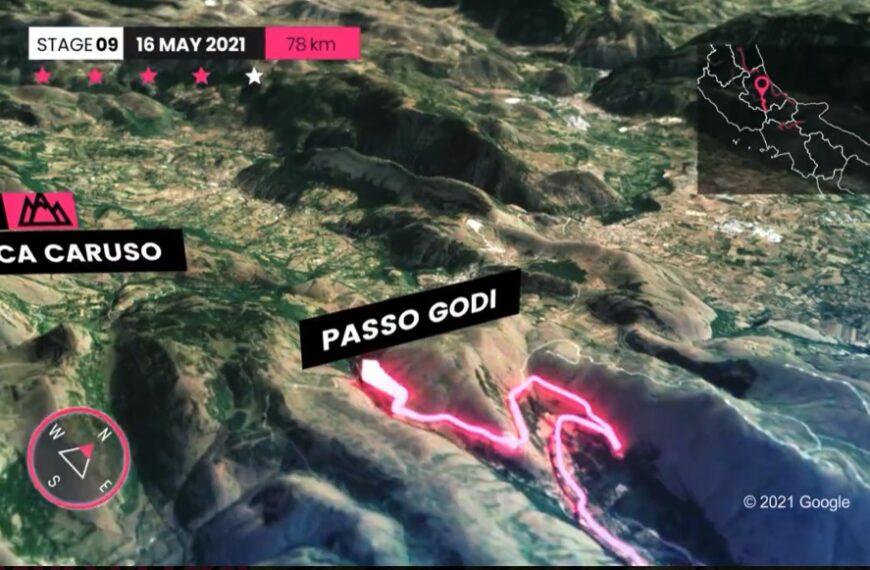 Giro d'Italia, domani primo vero tappone di montagna: Castel di Sangro – Campo Felice