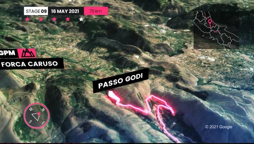 Giro d'Italia, domani primo vero tappone di montagna: Castel di Sangro - Campo Felice