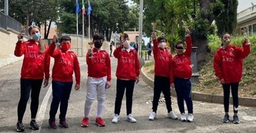 Scherma, successo dei giovanissimi del Circolo I Marsi nella Prova Regionale di Pescara