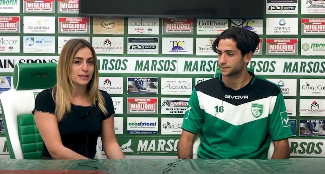 intervista: Il calciatore avezzanese Laguzzi si racconta
