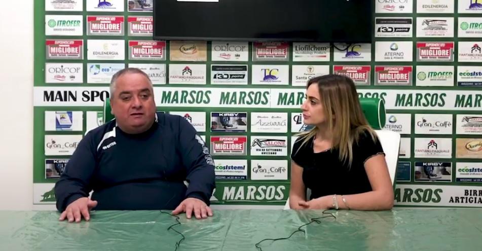 intervista avezzano calcio