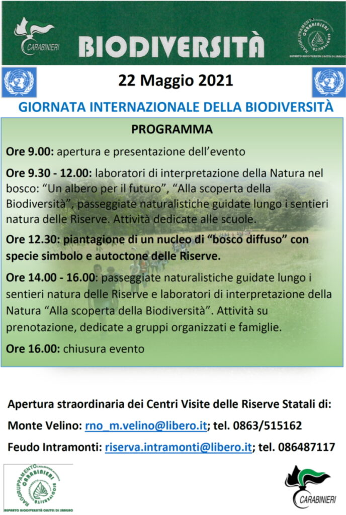 Riaprono i Centri Visita dei Carabinieri per la biodiversità