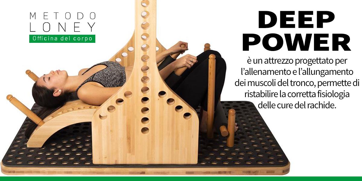 Arriva ad Avezzano la Deep Power per la cura di mal di schiena, torcicollo, scoliosi, ernia del disco e rinforzo muscolare