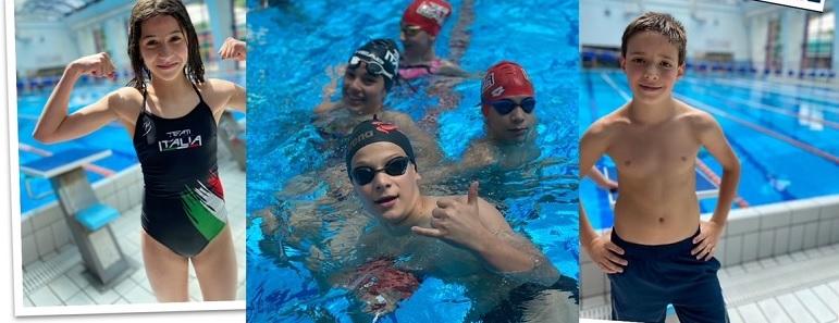 Ottimi risultati per gli Esordienti A e B del Team Centro ITALIA nella gare di nuoto regionali