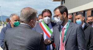 Visita del Ministro Patuanelli a San Benedetto dei Marsi. Soddisfazione del Sindaco D'Orazio