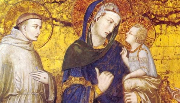 """Il mese mariano sta per finire: """"IL saluto alla Beata Vergine Maria"""" di San Francesco"""
