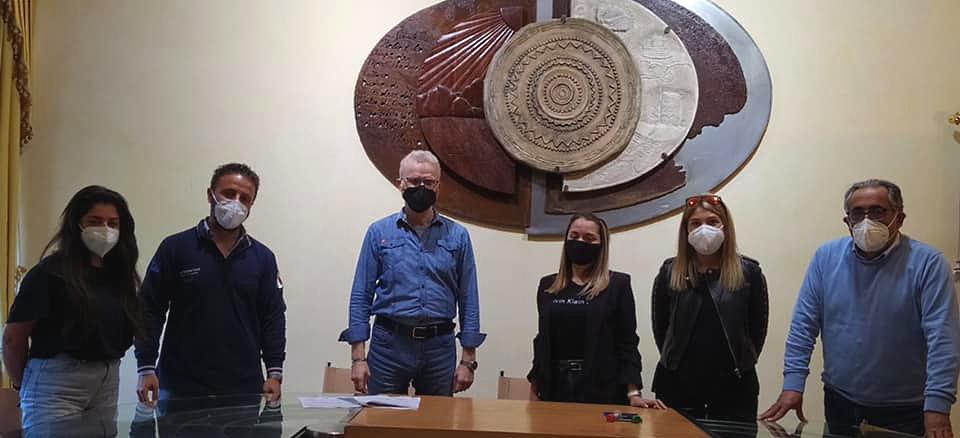 La Protezione Civile di Gioia dei Marsi dà il benvenuto ai tre giovani che svolgeranno il servizio civile