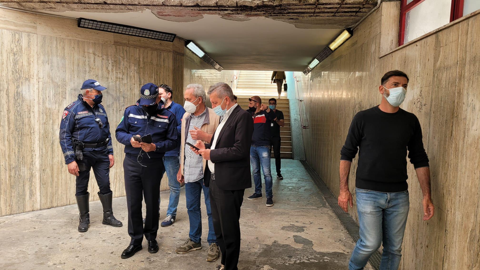 Arriva la videosorveglianza nel sottopasso della stazione di Avezzano: il Comune installerà quattro telecamere