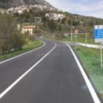 """Terminati i lavori sulla Strada Regionale n. 520 """"del Ceraso"""" a Ovindoli"""