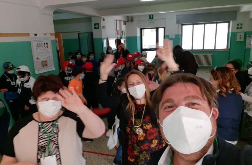 Una gita virtuale in Salento per gli alunni della scuola Iqbal Masih di San Benedetto dei Marsi