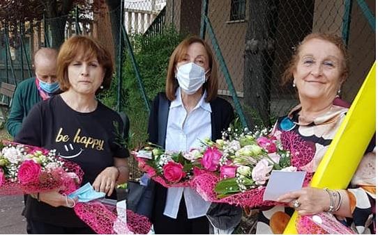 La Scuola Primaria di Cerchio saluta le maestre Luigina Restaino, Maria Loreta Rossi e Luciana Ranalletta andate in pensione