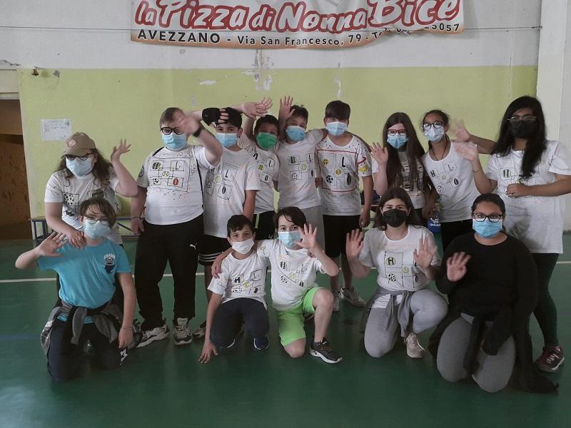 """Festa di fine anno alla """"Collodi Marini"""" di Avezzano con i giochi sportivi popolari"""
