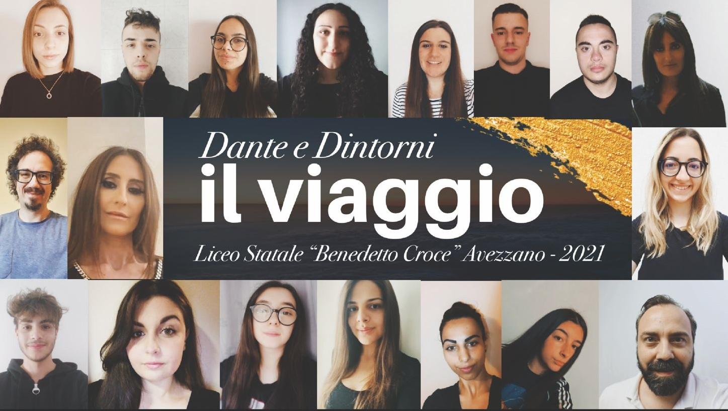 """""""Dante e dintorni… il viaggio"""", l'emozionante video dei ragazzi della V C del Liceo B. Croce di Avezzano"""