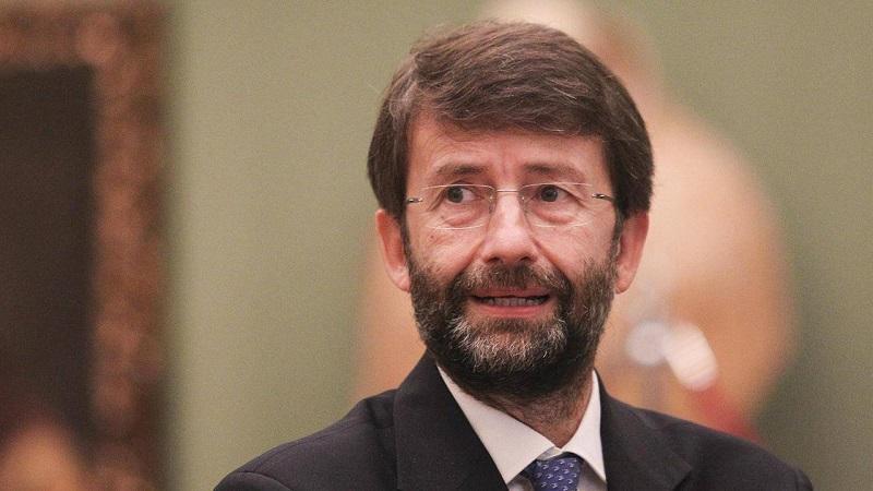 Il Ministro della Cultura Franceschini, ospite ad Aielli: presenzierà l'inaugurazione della nuova opera muraria dedicata a Dante Alighieri
