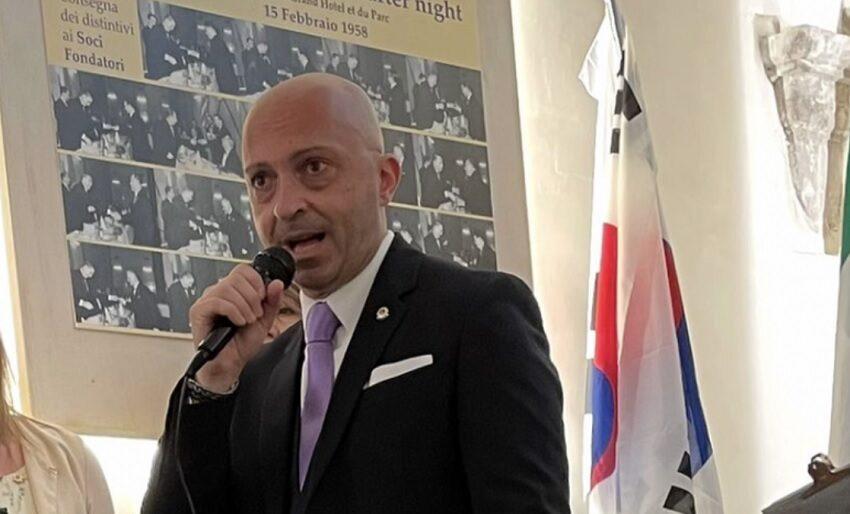 Passaggio del martelletto per il Lions Club L'Aquila, Massimiliano Laurini è il nuovo Presidente
