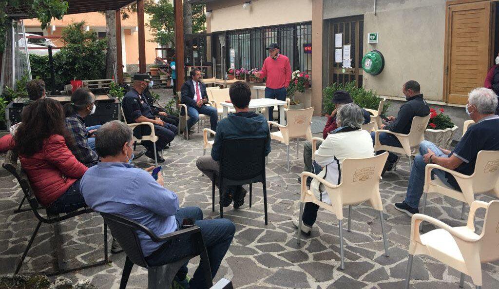Ortona dei Marsi incontro con i dirigenti del Parco Nazionale d'Abruzzo, Lazio e Molise
