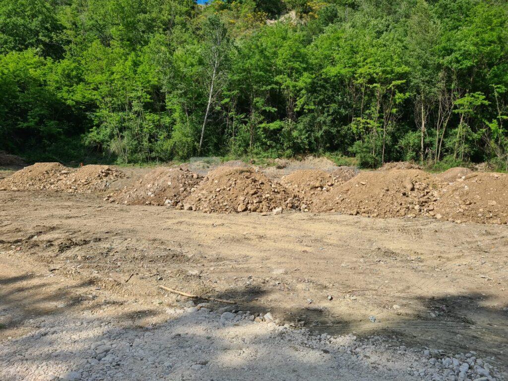 Sono iniziati i lavori del centro di raccolta rifiuti differenziati in località Ricoppo di Balsorano