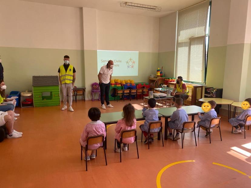 Collarmele, il Servizio Civile spiegato ai bambini della scuola dell'infanzia