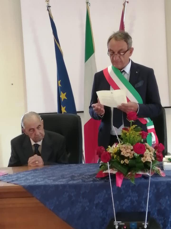 Cento anni del reduce di guerra d'Africa Rocco Gino D'Amico