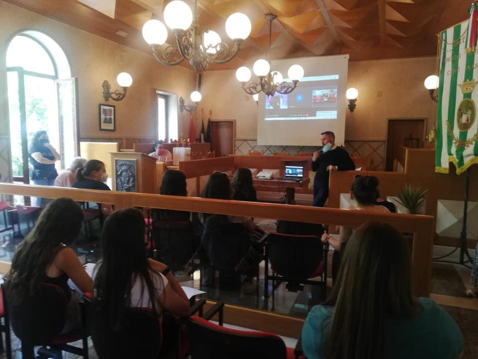 Gli studenti dell'Istituto Turistico Argoli di Tagliacozzo si preparano per il Festival Internazionale Mezza Estate 2021