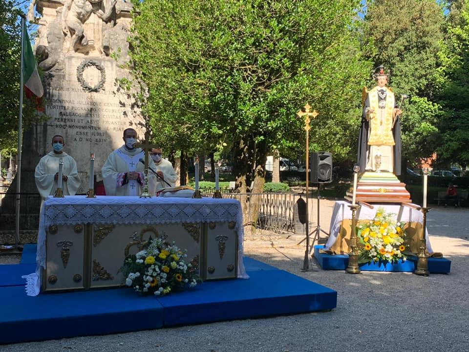 Tagliacozzo celebra San Vincenzo Ferrer nel Parco della Rimembranza