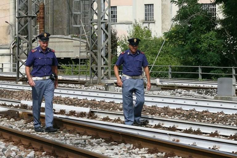 Persone non autorizzate sui binari, necessario l'intervento delle forze dell'ordine sulla Roma-Avezzano