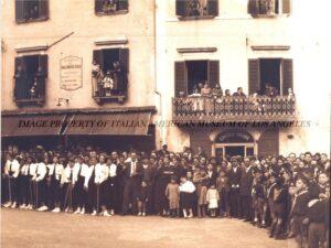 Presso l'Italian American Museum di Los Angeles una fotografia di Tagliacozzo del 1937