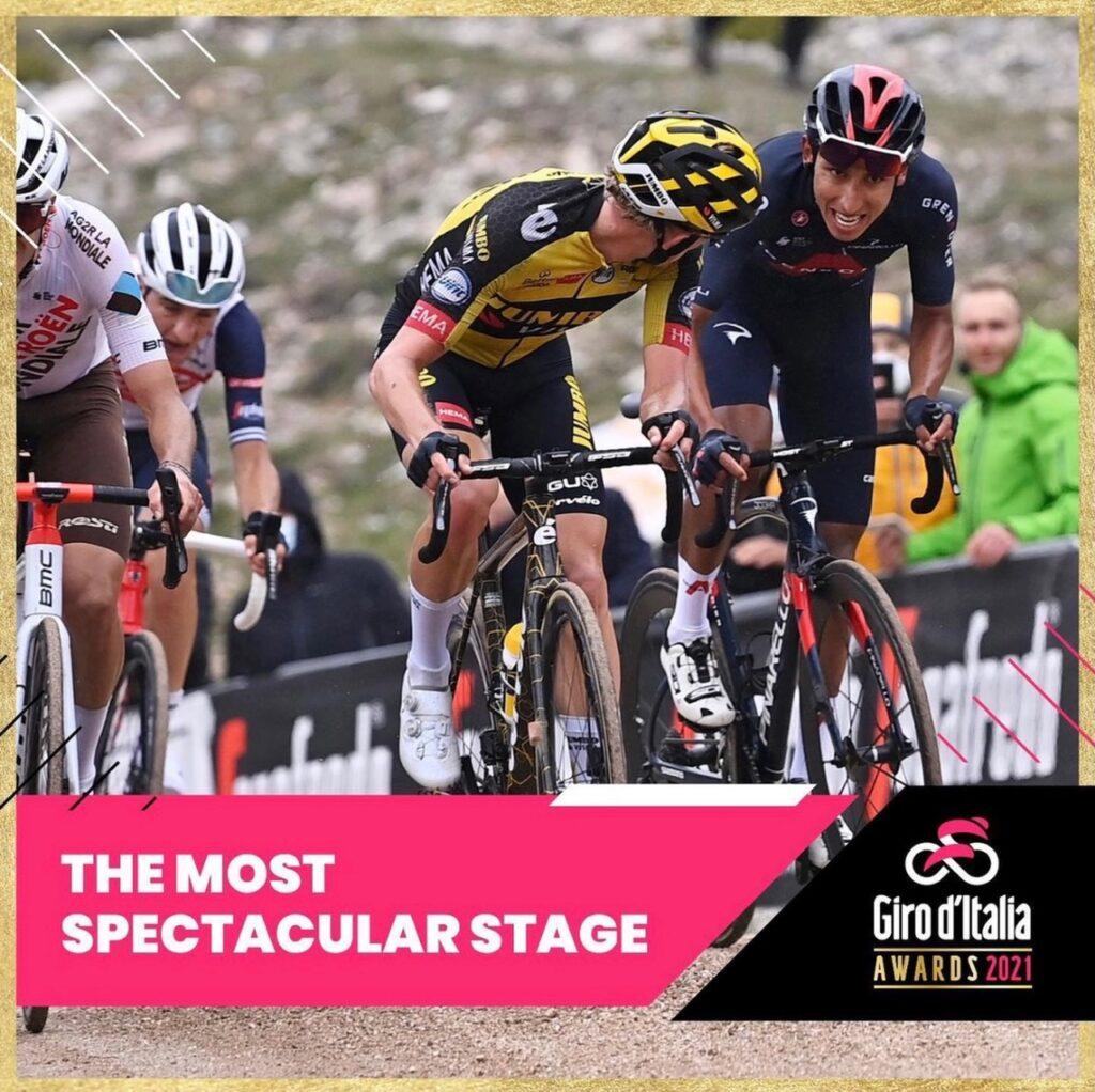 """Lo sterrato di Campo Felice vince il concorso """"Giro d'Italia Awards"""""""