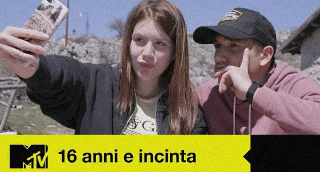 16 anni e incinta: su MTV la storia di una giovane coppia marsicana