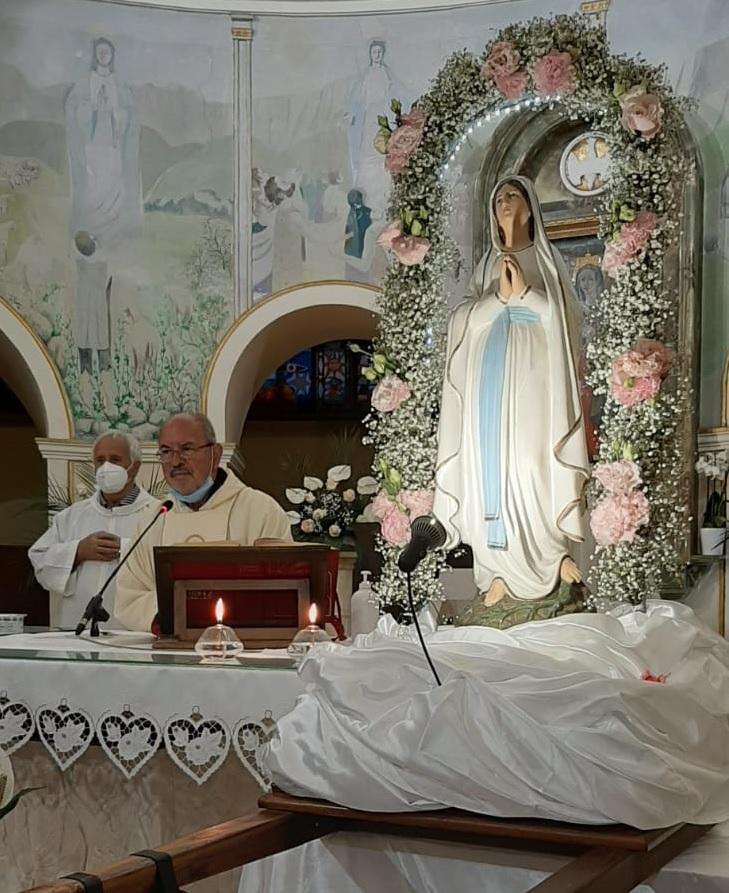 Celebrazione conclusiva del mese dedicato alla Vergine Maria al Santuario della Madonna di Pietraquaria